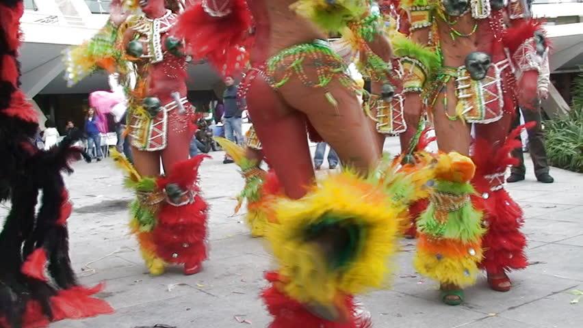 Colorful Brazilian Carnival
