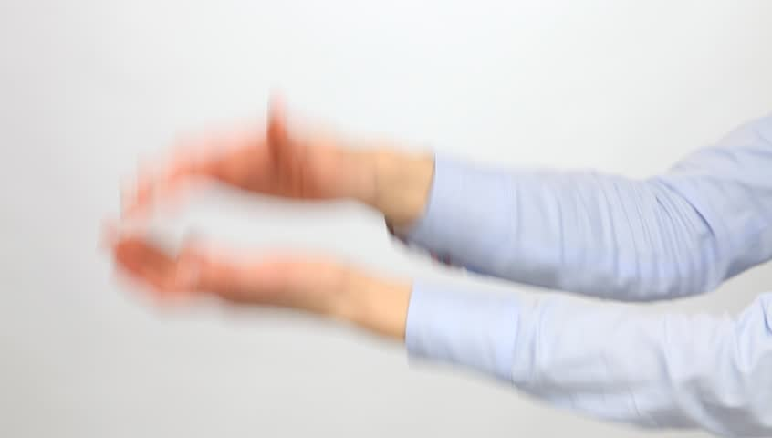 Female hands applauding | Shutterstock HD Video #12555284