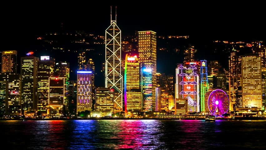 Hong Kong - October 2015 Stock Footage Video 100 -2194
