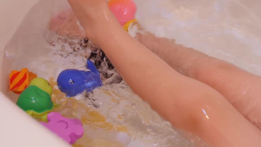 4k00:15A cute little boy taking a hot bath in a bathtub ... - Shutterstock