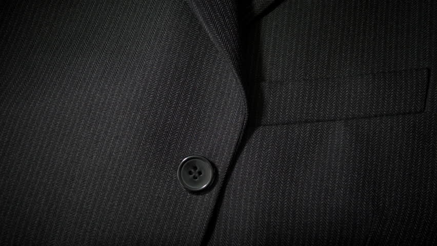 Gentlemans Black Suit Jacket Background Stock Footage Video 100