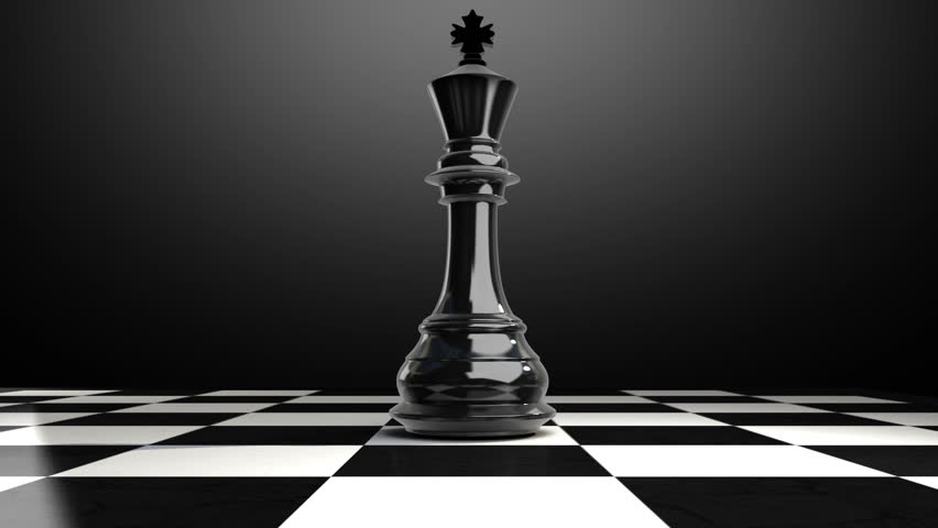 Put the chess piece king on a chessboard(included alpha) | Shutterstock HD Video #12751094