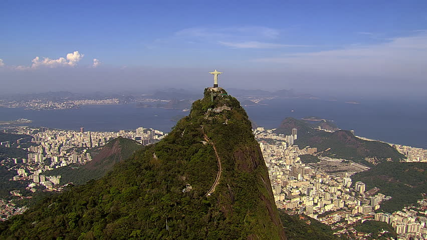 Aerial view of Botafogo Bay and Sugarloaf Mountain, Rio de Janeiro, Brazil | Shutterstock HD Video #12793808