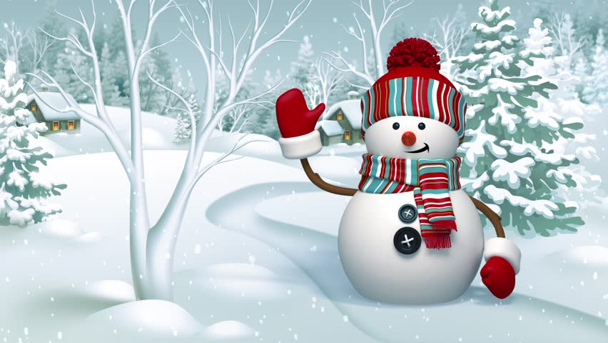 Stock video of christmas 3d snowman animated greeting card stock video of christmas 3d snowman animated greeting card 7955932 shutterstock m4hsunfo