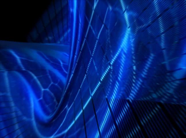 3d biomechanic blue background 30sec