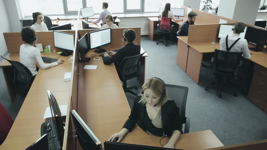 employees of call center hd stock video clip - How To Get Hired After Being Fired Or In Downtimes