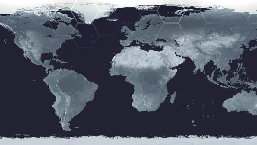 World map high tech digital satellite data view war room 4k stock world map high tech digital satellite data view war room 4k stock footage video 12889334 shutterstock sciox Images