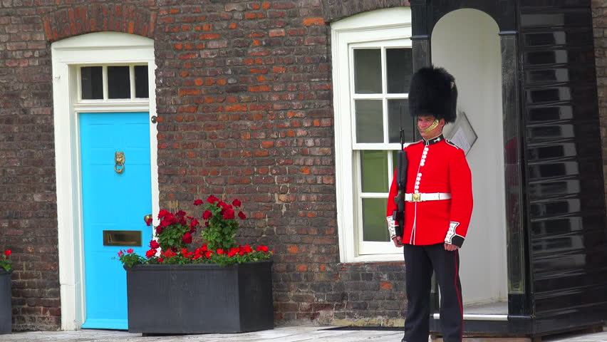 LONDON, ENGLAND - CIRCA 2015 - Beefeater guard at the Tower Of London in London, England.