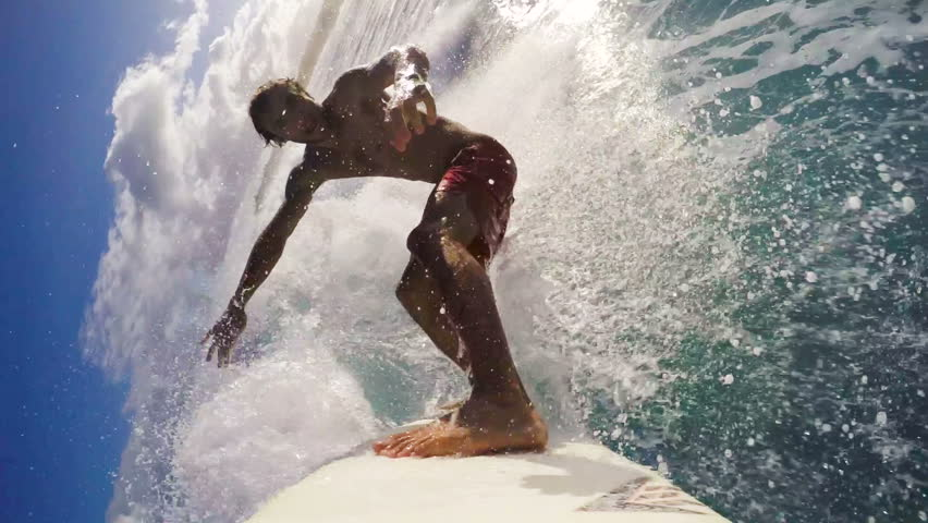 POV Surfing (Slow Motion) | Shutterstock Video #13205351