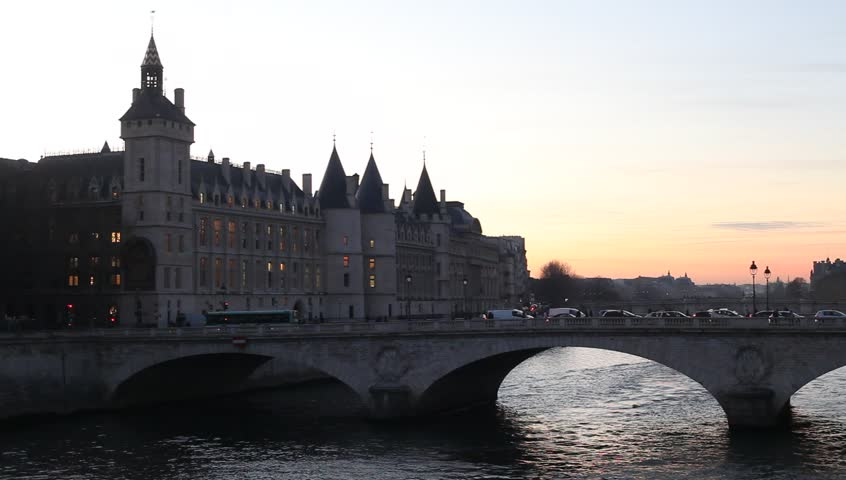 Sunset in Paris | Shutterstock HD Video #13248014