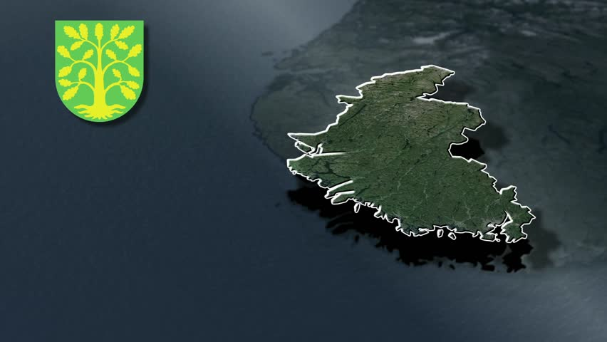 Norway Map And Flag Made Out Of People Stock Footage Video - Norway map hd