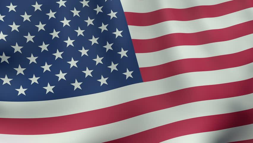 de9ea217f58 Seamlessly Loopable Waving American Flag Stock Footage Video (100 ...