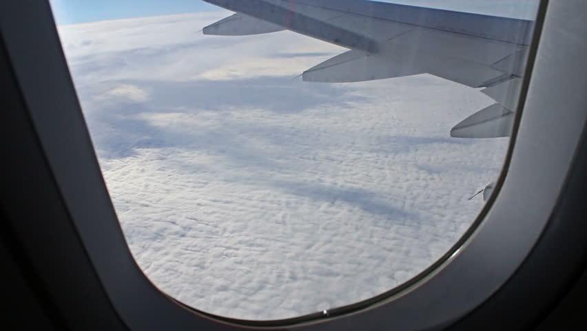 Wondrous Airplane Window Seat View Stock Footage Video 100 Royalty Free 13331894 Shutterstock Machost Co Dining Chair Design Ideas Machostcouk