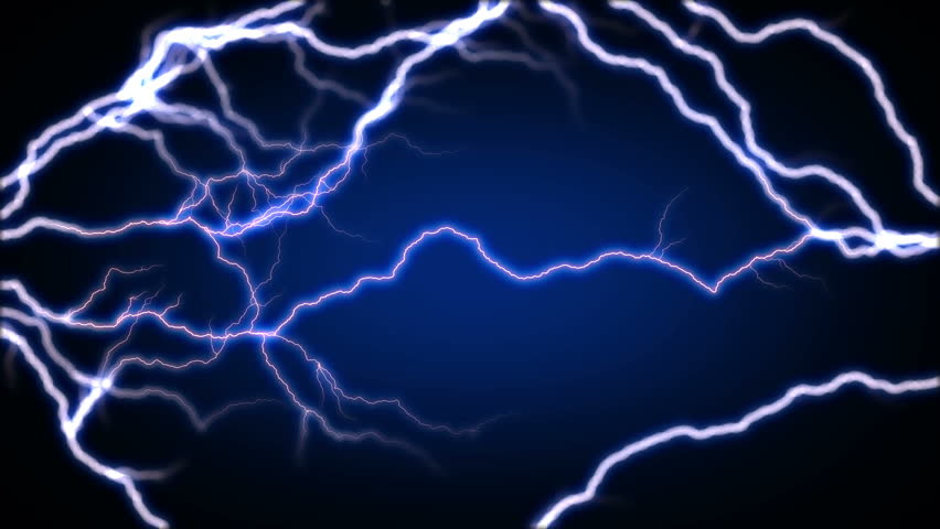 Stock Video Clip Of 4k Blue Lighting Energy Sparking Seamless Loop Shutterstock