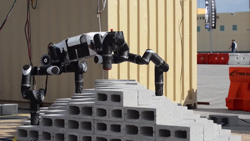 CIRCA 2010s - Examples of robotic technology under development by NASA scientists.