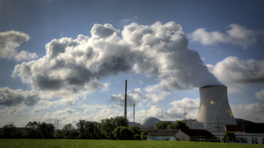 Nuclear Power Station Isar in Lower Bavaria