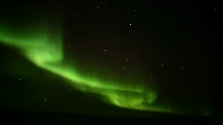 Northern lights on the polar sky #1373971