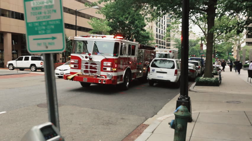 Firefighter Car in New York City