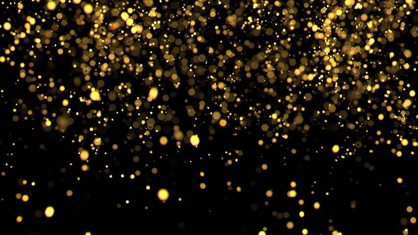Gold confetti   Shutterstock HD Video #13774244