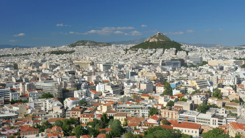 Apartments in Downtown Athens, Greece, Stock Footage Video ...