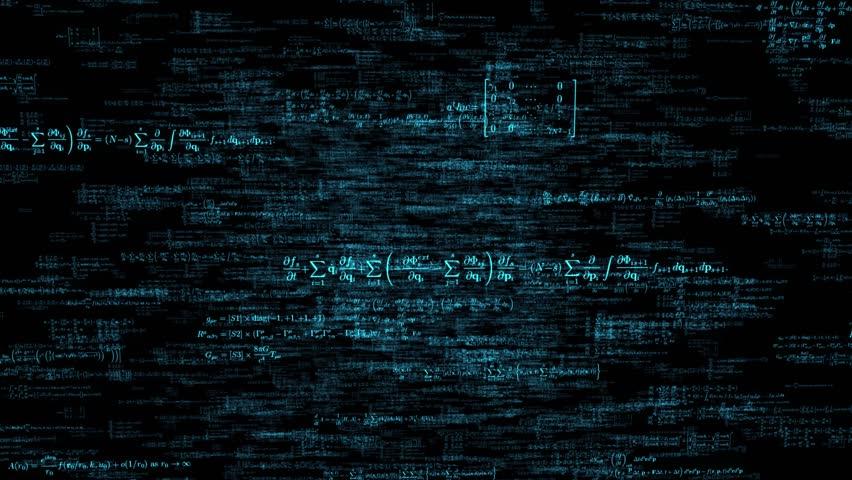 Formula formulae fly through math science data financial teacher tech 4k   Shutterstock HD Video #13794467