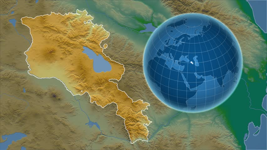 Armenia Shape Animated On the Stock Footage Video (100% Royalty-free)  13820804 | Shutterstock
