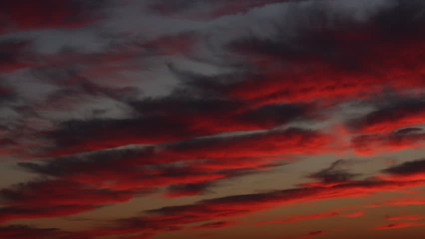Sunset clouds Time Lapse | Shutterstock HD Video #13846934
