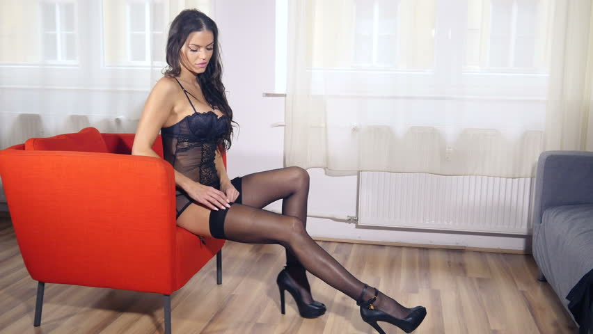 Pantyhose stocking videos