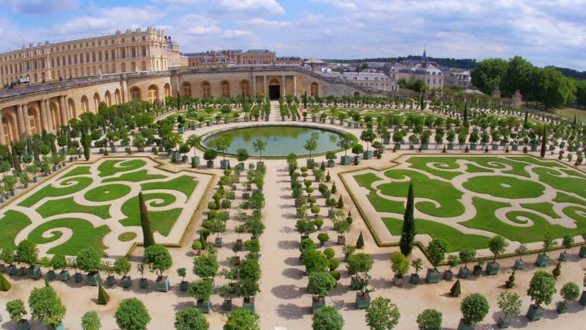 Versailles palace paris france 4k stock footage video for Architecte des batiments de france versailles