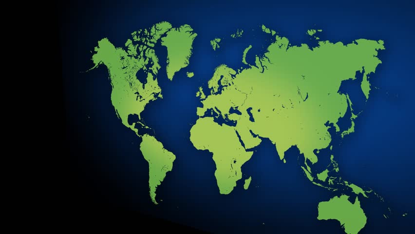 3d render earth map in motion stock footage video 15832024 world map background with 3d camera hd stock video clip gumiabroncs Image collections
