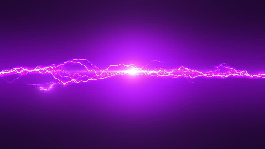 Stock Video Of Purple Lightning Loop 14063354 Shutterstock