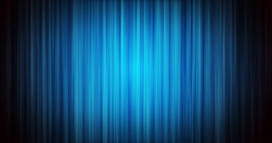 Realistic 3 D Render Of Blue Curtains In 4 K Resolution Loopable That