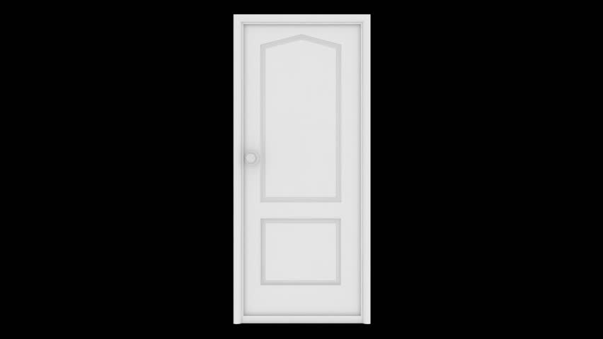 White Door Opens And Behind It A Green Background. The Quality Of 4K Stock Footage Video 14347924 | Shutterstock & White Door Opens And Behind It A Green Background. The Quality Of ... pezcame.com
