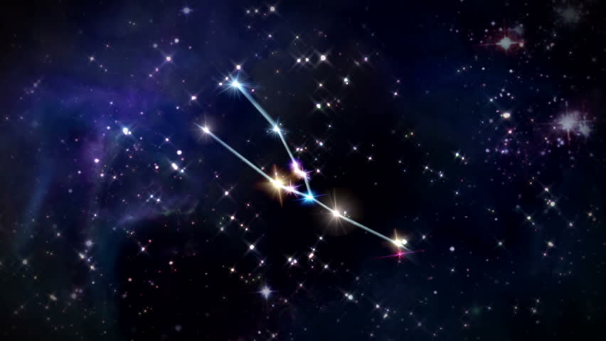 The Stars Of The Zodiac Constellation Taurus The Bull Are ...