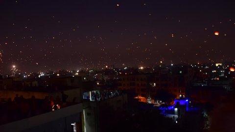 Gujarat Uttrayan Festival Time lapse