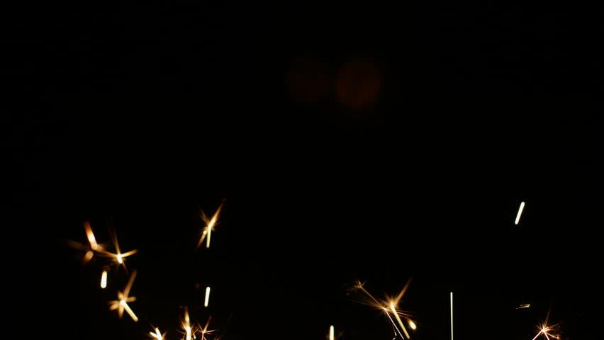 Fireworks Sparkler Closeup 4K 30fps ProRes HQ