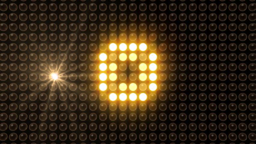 LED Light Wall. Stock Footage Video 1210462 | Shutterstock