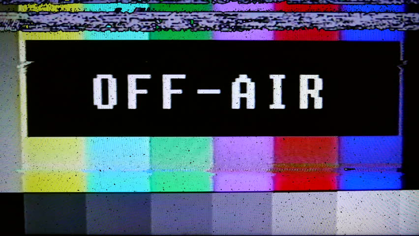Color Bars Test Broadcast Pattern With Text Technical