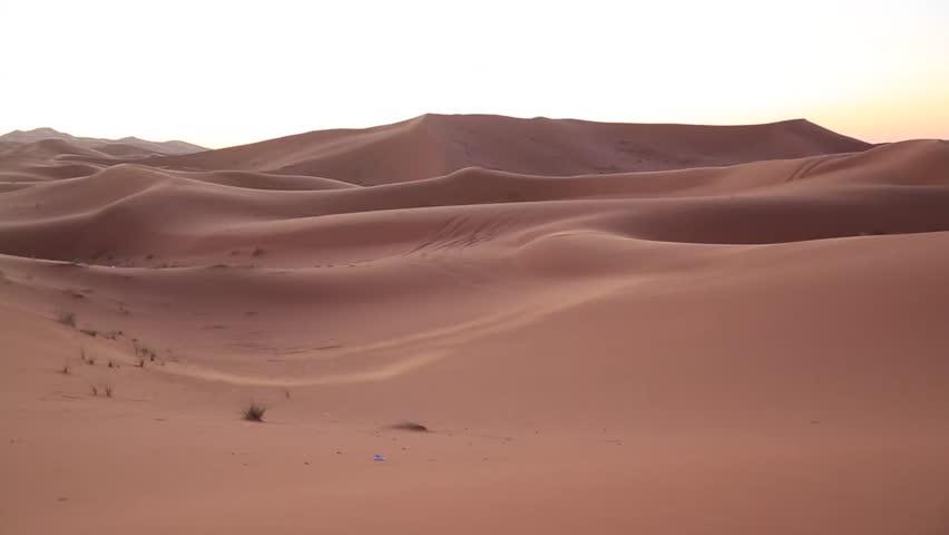 the amazing Erg chebbi dunes in the sahara desert, morocco #14625394