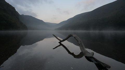 Upper Lake in Wicklow Mountains - Glendalough/ Glendalough / Ireland