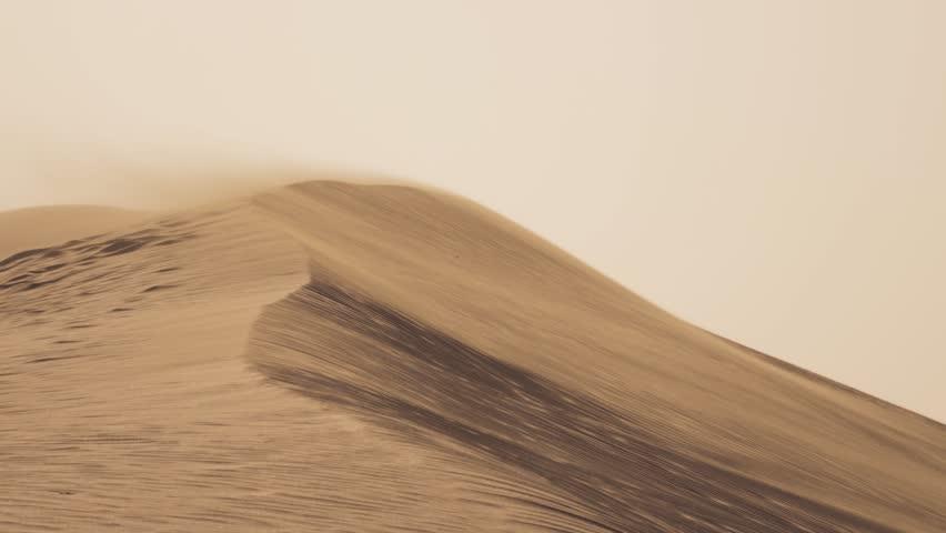 DUNES AND WIND - DESERT    Shutterstock HD Video #14672773