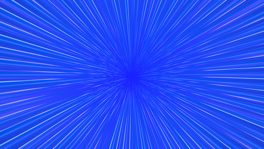 Blue Rays Background. Vector Illustration For Your Bright Beams ...