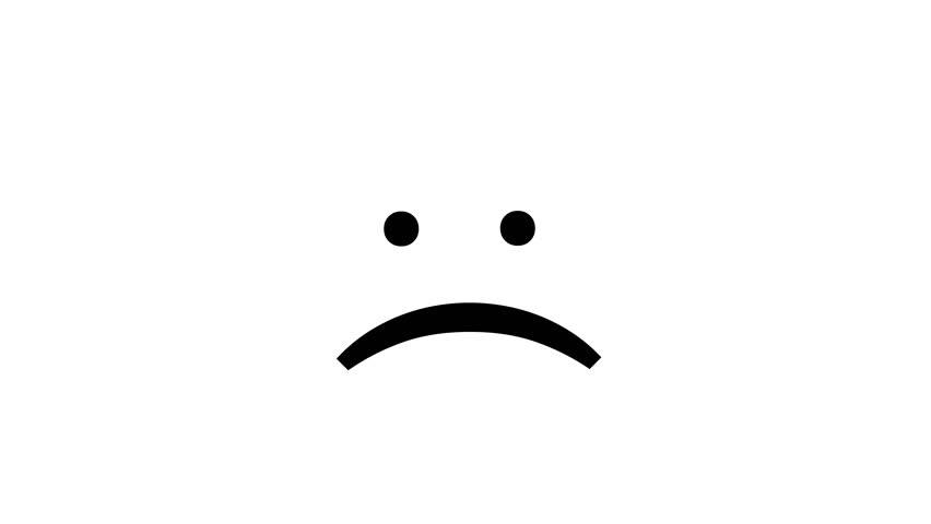 User Types Sad Plain Text Stock Footage Video 100 Royalty Free