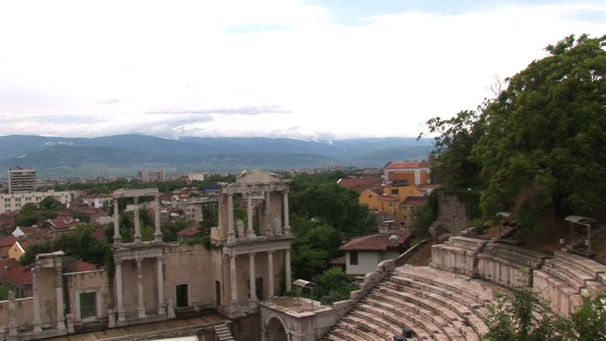 The Roman Amphitheatre of Plovdiv