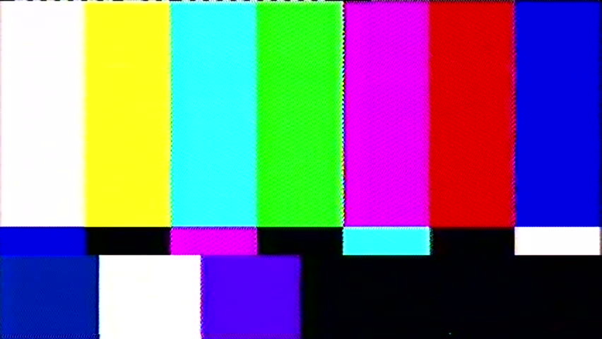 Tv static noise color bars bad signal | Shutterstock HD Video #15382384