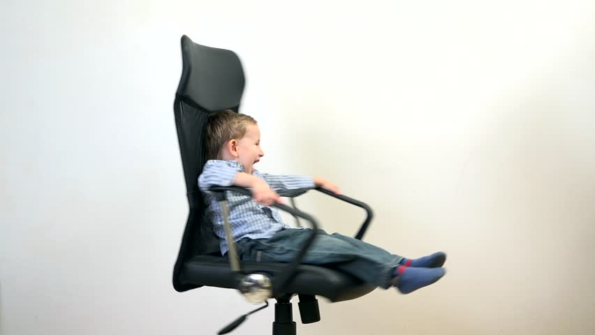 sc 1 st  Shutterstock & Stock video of funny kid spinning in an office | 15397054 | Shutterstock