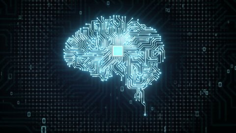 Brain CPU chip, grow artificial intelligence