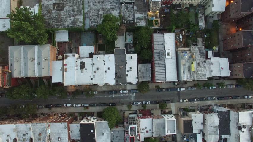 An aerial video of Brooklyn and Manhattan, New York City, 4K UHD at Sunset   Shutterstock HD Video #15529474