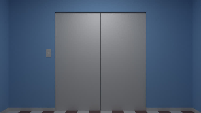 The elevator doors opened. The camera moves & Opening Elevator Doors From Outside Opportunity Stock Footage ... pezcame.com
