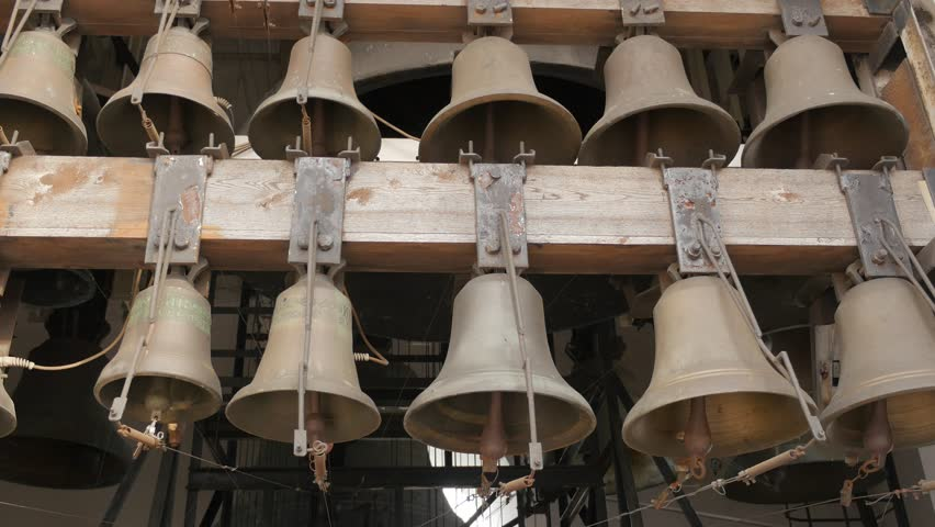 Bells Close up at Bell Stock Footage Video (100% Royalty-free) 15803044 |  Shutterstock